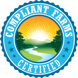 Compliant Farms Certified sponsors The Golden Tarp Awards