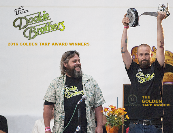 Dookie Brothers win the 2016 Golden Tarp Award for their Zkittlez entry