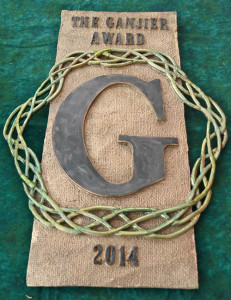 The Golden Tarp's Ganjier Award