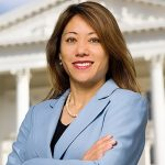 Fiona Ma, Chairwoman of California State Board of Equalization speaks at The Golden Tarp Awards