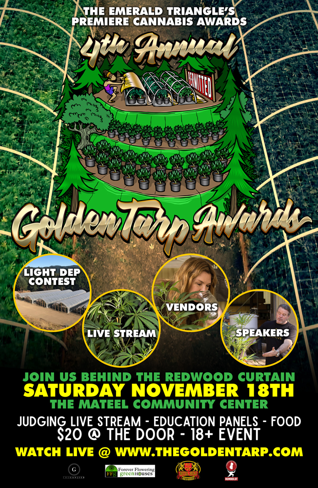 Golden Tarp Awards 2017 Poster Two
