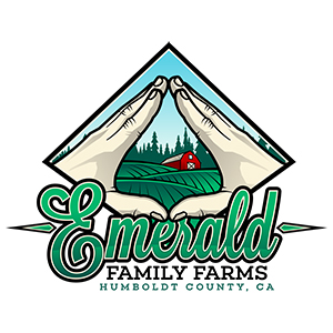 emerald family farms sponsor logo