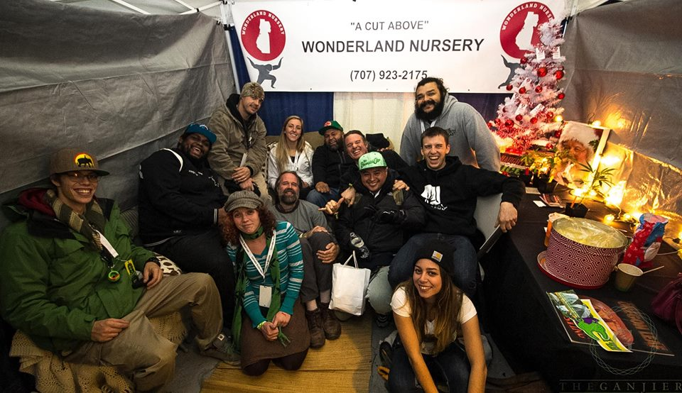 Danny from Green Walrus Delivery hanging with the Wonderland Nursery crew